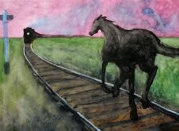 train horse